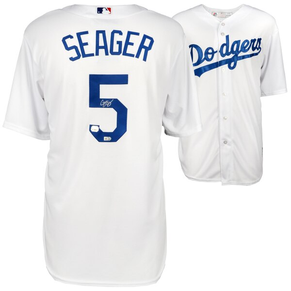 wholesale dealer e650e a71e1 Autographed Los Angeles Dodgers Corey Seager Fanatics ...